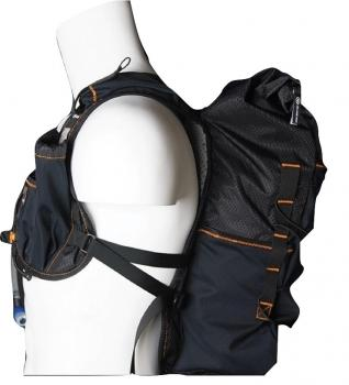 Orange Mud Adventure Pack 20 Liter Schwarz